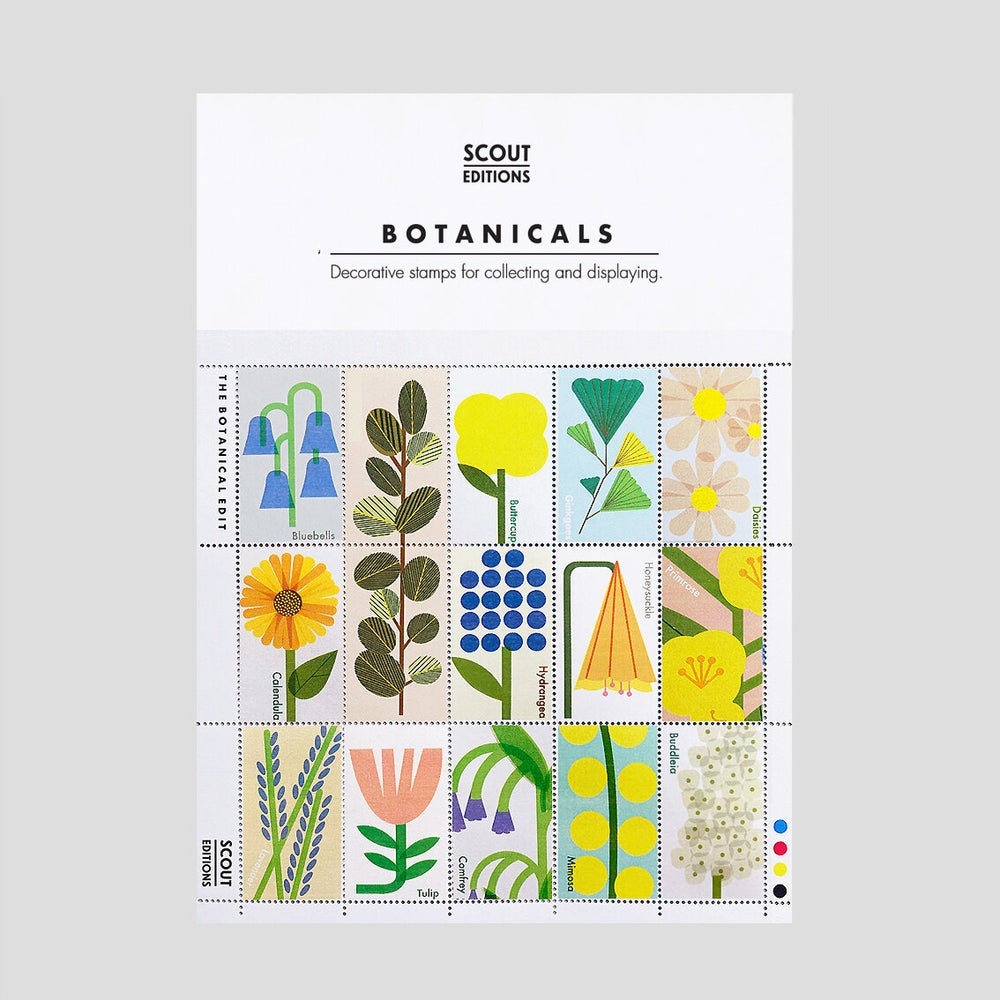 Image of Botanicals Stamp Set