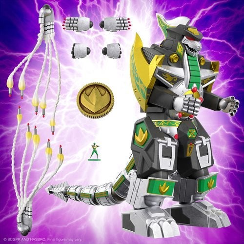 Image of Power Rangers Ultimates Dragonzord 7-Inch Action Figure