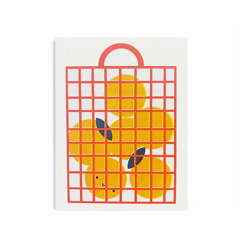 Image of Oranges Card