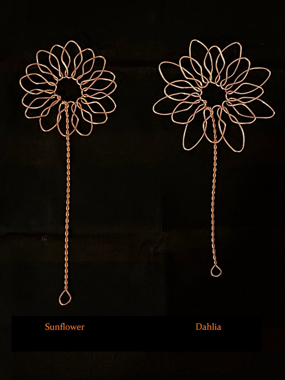 Mini Copper Flower