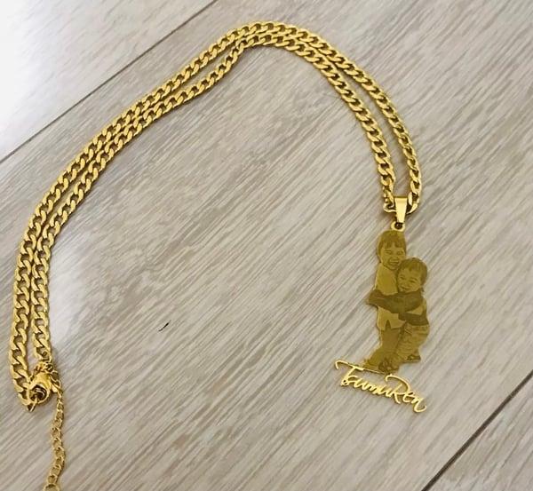 Image of Custom Photo Necklace