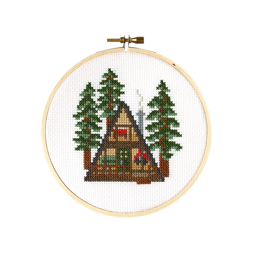 Image of A-Frame Embroidery Kit