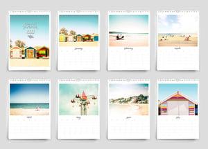 Image of 2022 Australian summer calendar