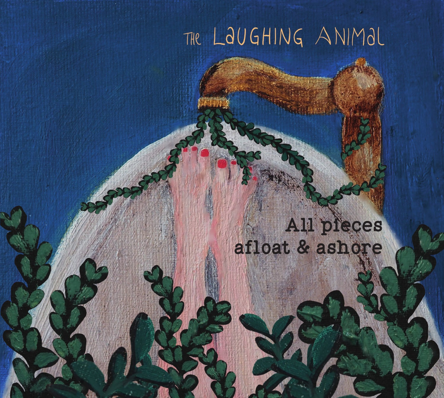 Image of The Laughing Animal - all pieces afloat & ashore CD