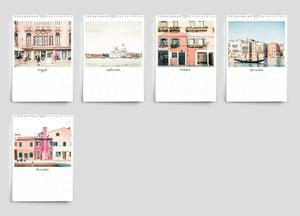 Image of 2022 Venice Italy calendar