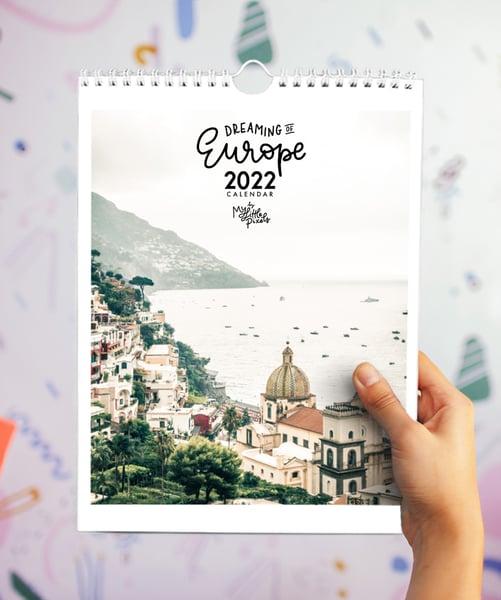Image of Europe Dreaming 2022 Calendar