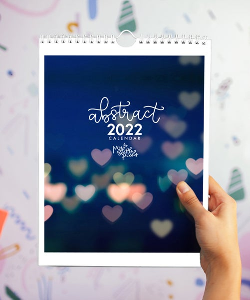 Image of 2022 Abstract calendar