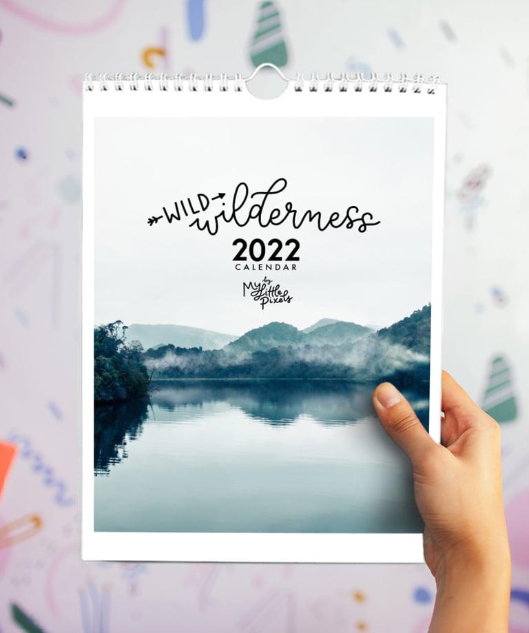 Image of 2022 Wildness calendar