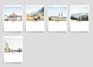 Image of 2022 Switzerland calendar