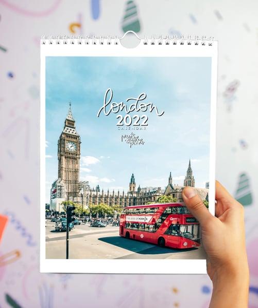 Image of 2022 London England calendar