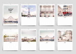 Image of 2022 Paris France wall calendar
