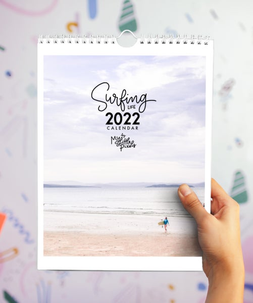 Image of 2022 Australian surf wall calendar