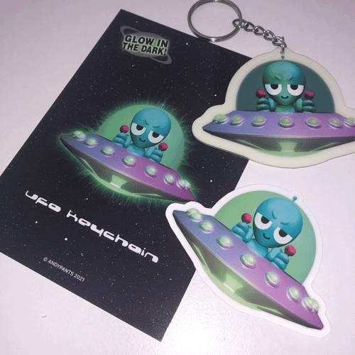 Image of UFO Keychain