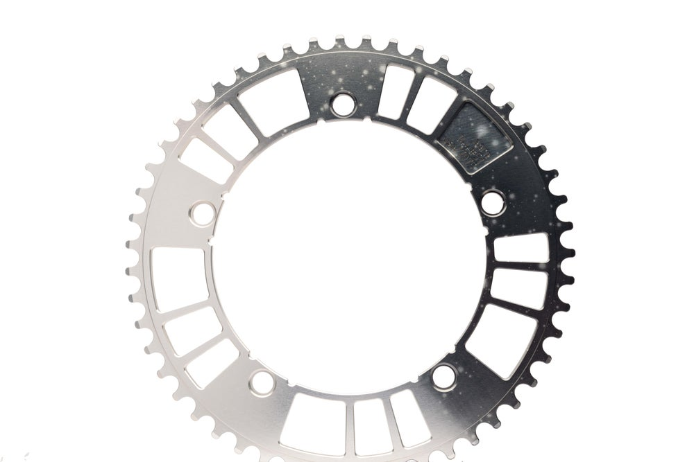 """Image of 144#49/51 Limited Edition """"Spacedust Horizon"""" Track Chainring (144BCD//49/51-Tooth)"""
