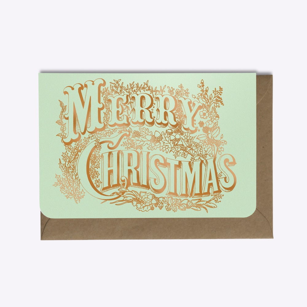 Image of CARTE MERRY CHRISTMAS