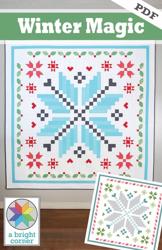 Image of Winter Magic Pattern - PDF Version