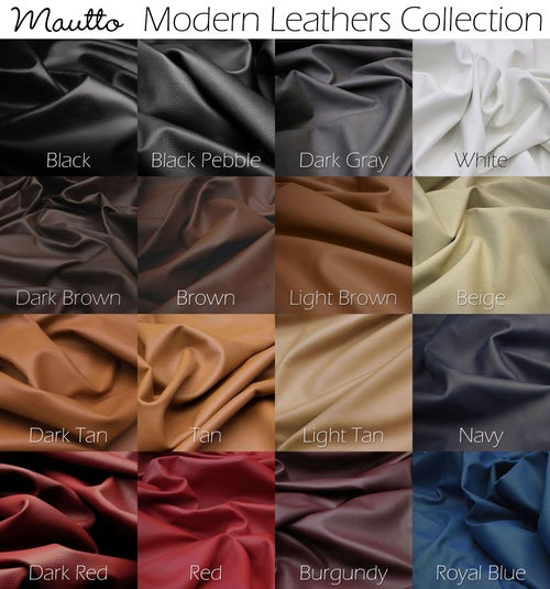 """Image of Leather Top Handle - Tapered (1.5"""" Middle, 1"""" Ends) - 25 Leather Colors - Gold or Nickel #16LG Hooks"""