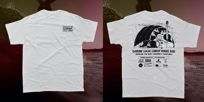 Image of GoSurf Local Lineup Tee - White
