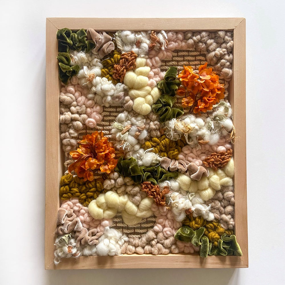 Image of Autumn in Love Framed Weave