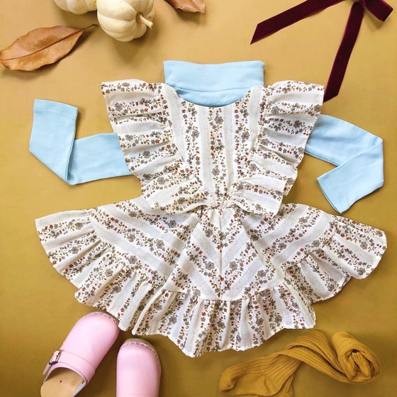 Image of Porcelain Doll Pinafore