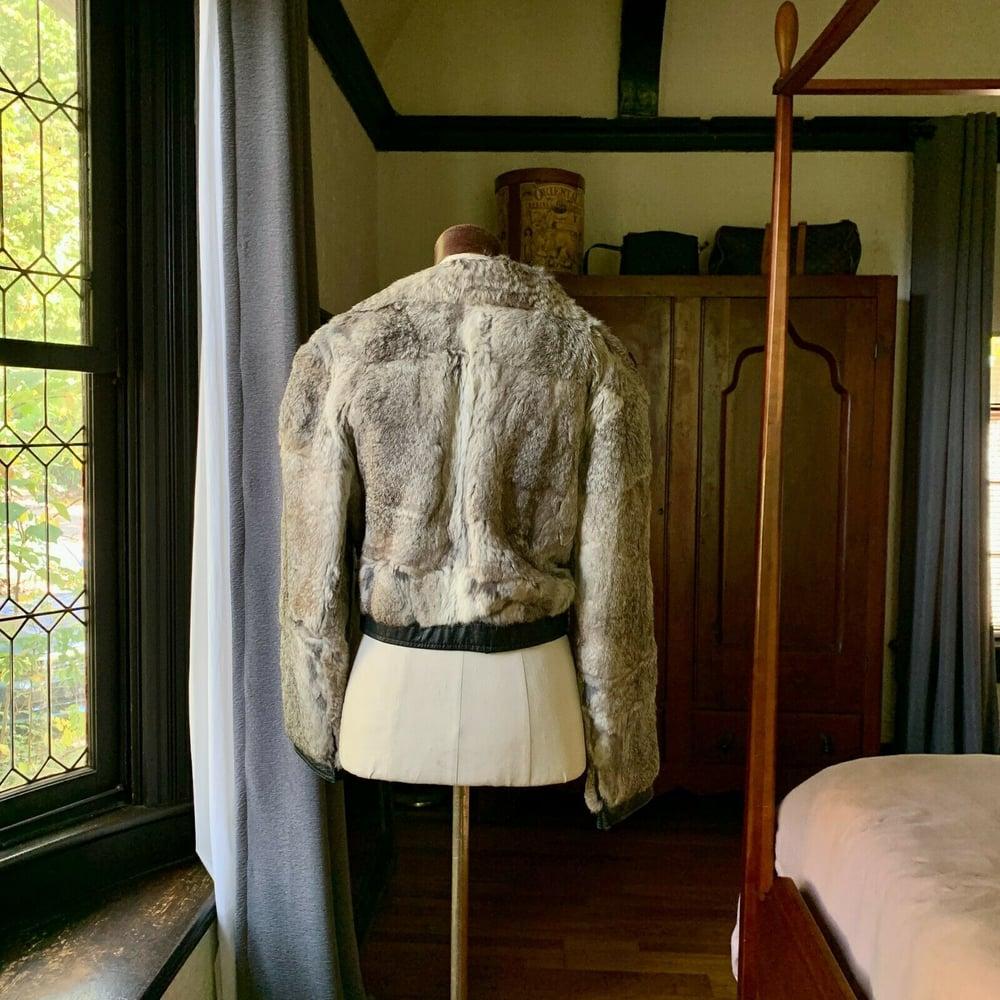Mongolian Rabbit Fur Jacket Medium