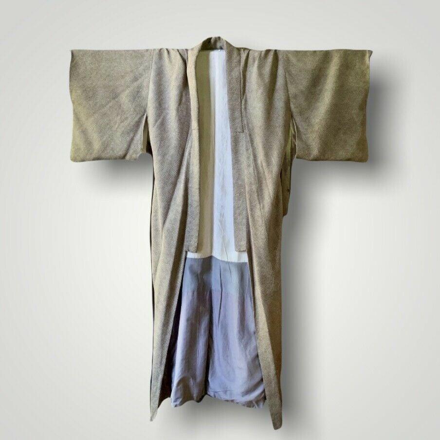 Japanese Long Kimono Robe O/S