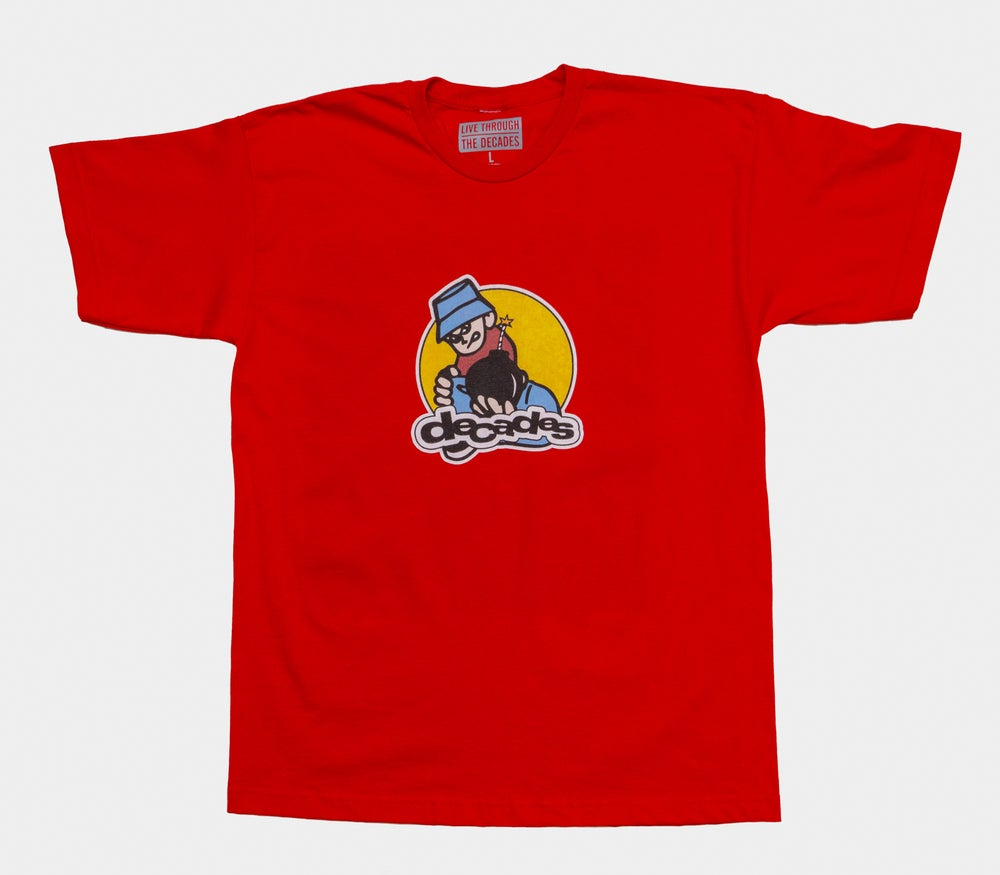 Image of Delinquent Tee Red