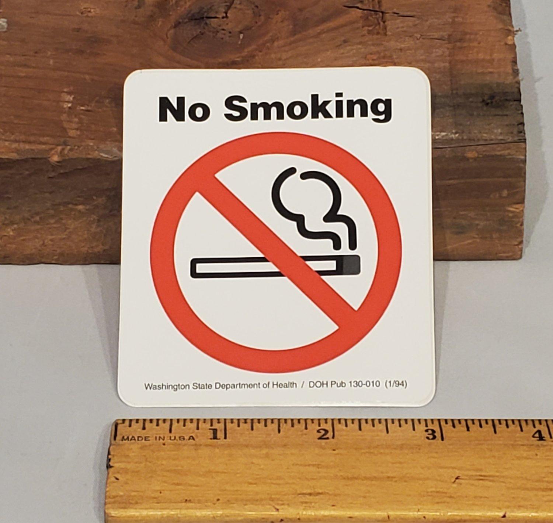 Image of No Smoking Sticker