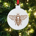 Engraved Bee Decoration