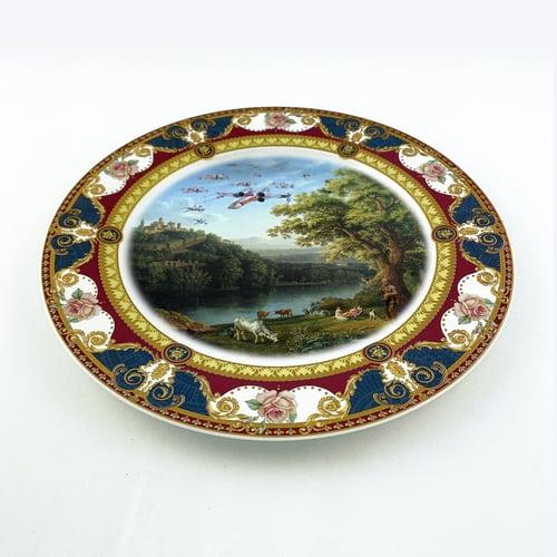 Image of Squad landscape - Large Fine China Plate - #0777