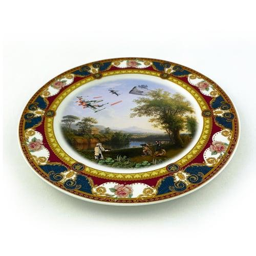 Image of Solo Landscape - Fine China Plate - #0787