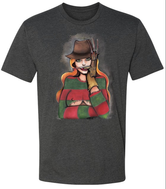 Image of LIMITED EDITION LADY FREDDY T-SHIRT (HALLOWEEN EXCLUSIVE!)