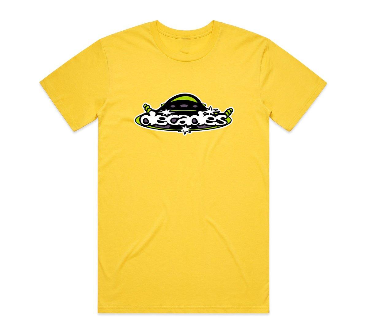 Image of UFO Tee Yellow