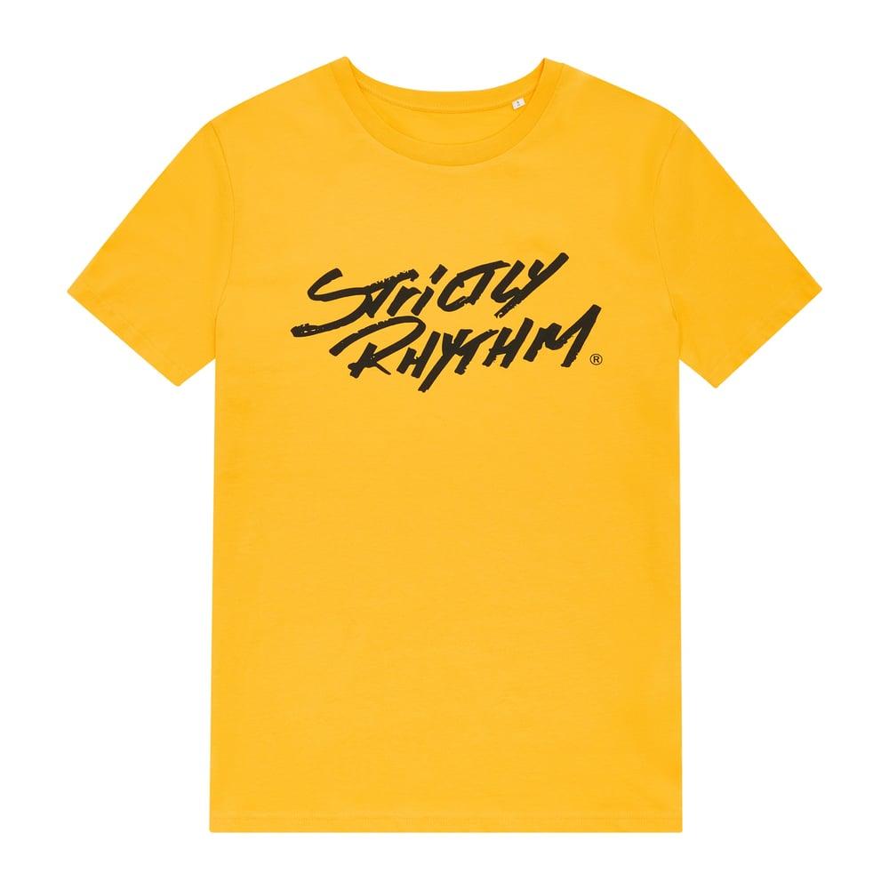 Image of Men's classic logo t-shirt yellow