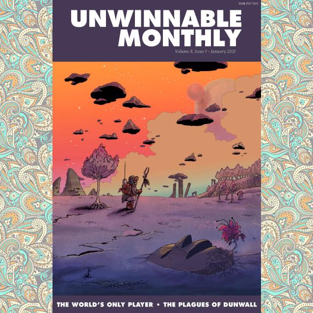 Unwinnable Monthly, Volume 8 - Back Issues (2021)