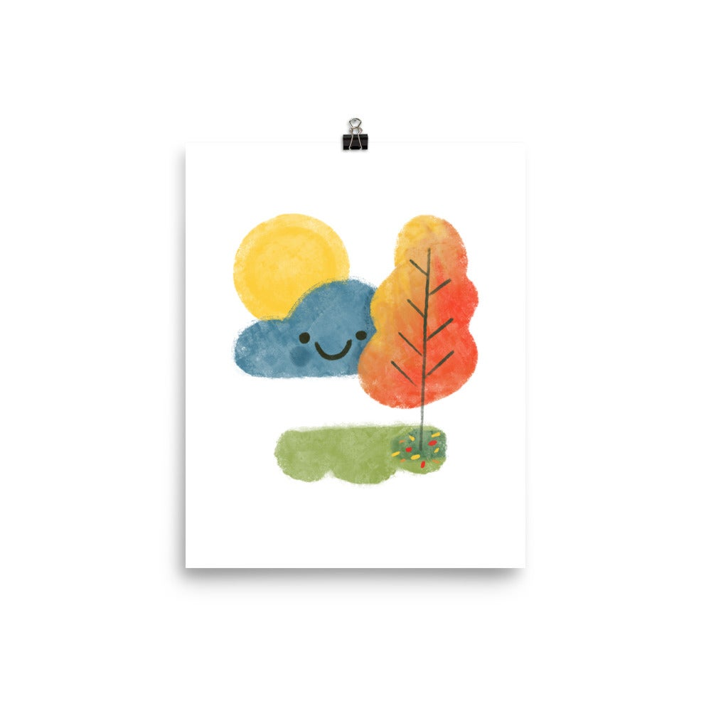 "Image of Autumn Cloud 8"" x 10"" Print"