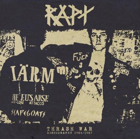 "RAPT ""Thrash War: Discography 1984/1987"" LP + CD + 7"" EP"