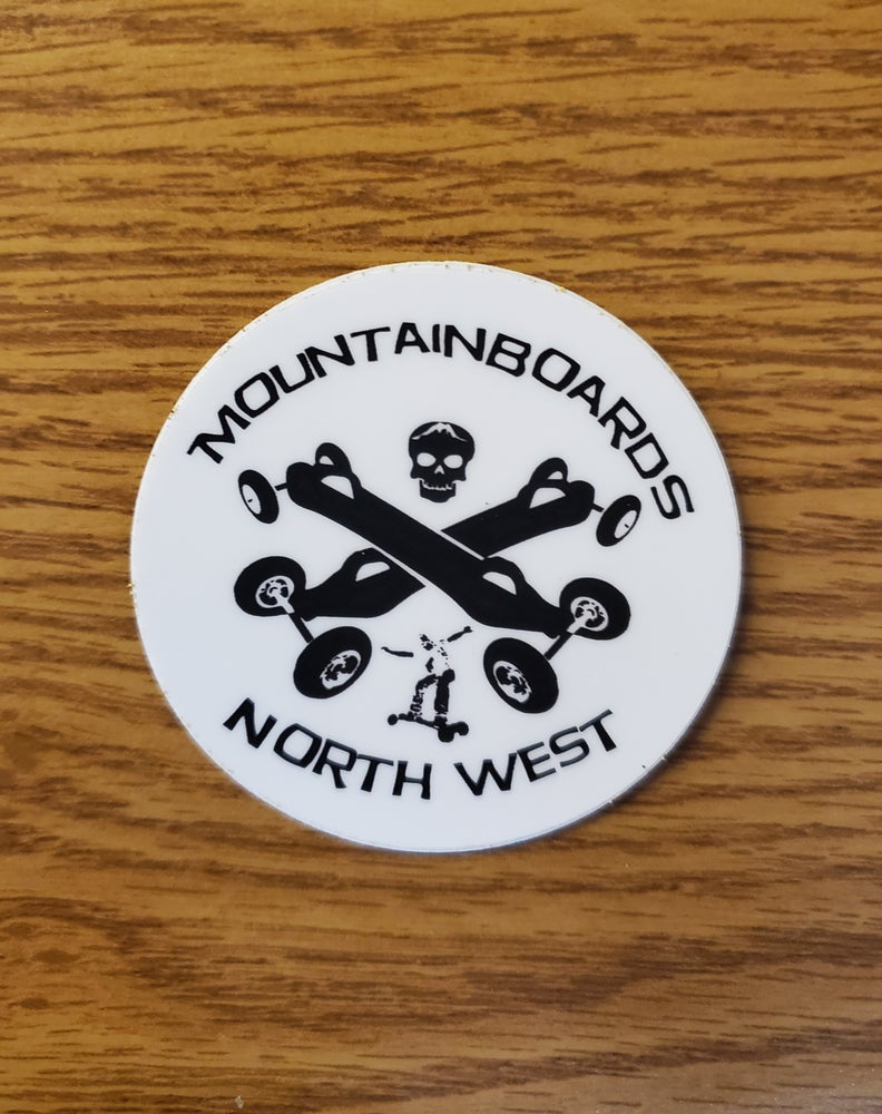Image of Club Stickers - Mountainboards NW