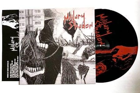 """MILITARY SHADOW """"Violent Reign"""" LP"""