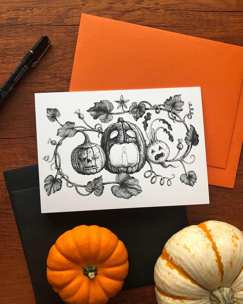 Image of Jack-O'-The-Lantern Card