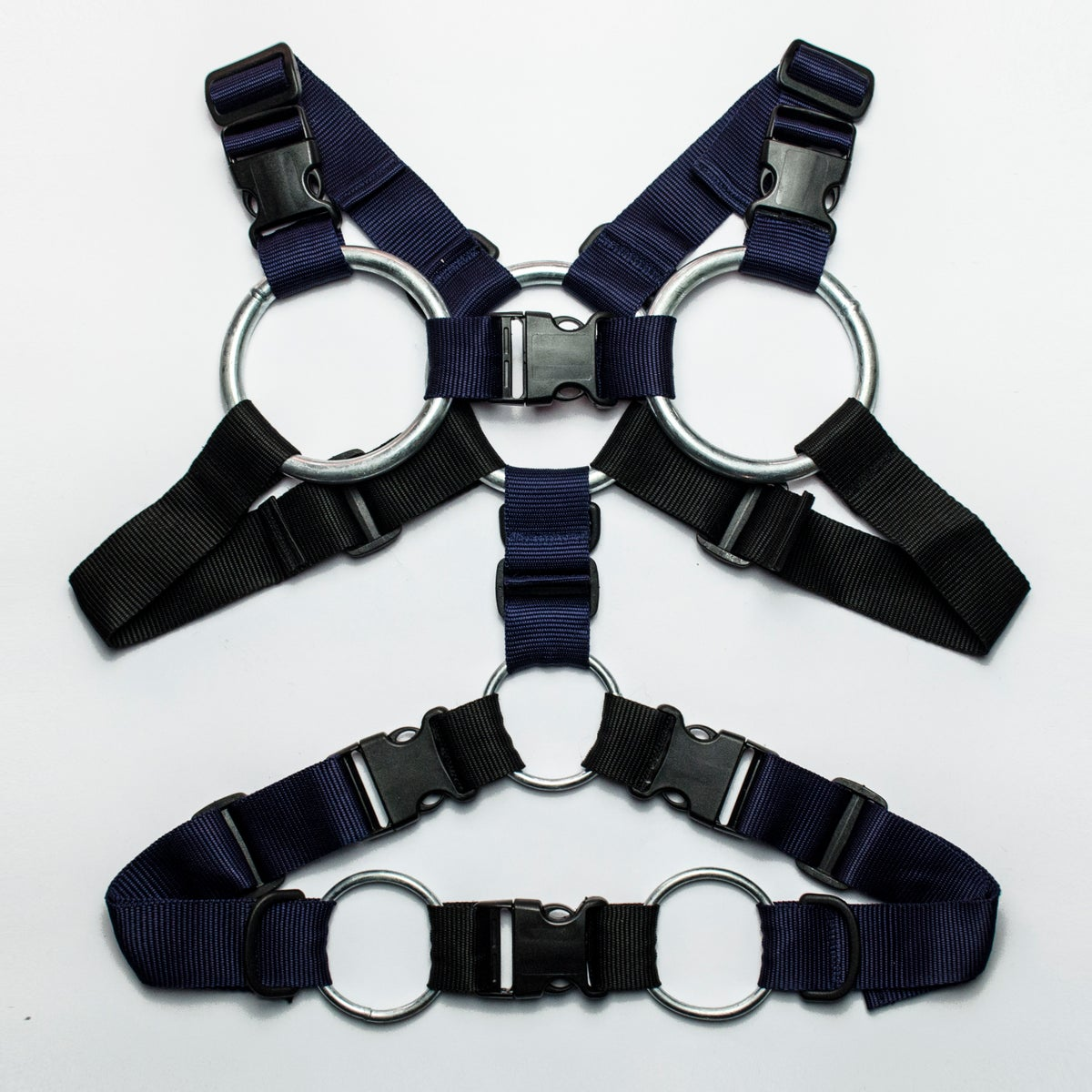 Image of TACTICAL HARNESS YT_01 / NAVY - BLACK