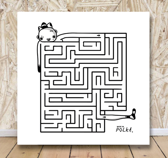 Image of • LABYRINTHE N°1