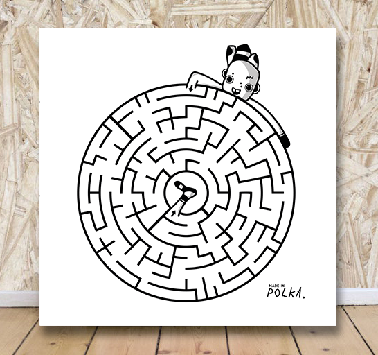 Image of • LABYRINTHE N°2