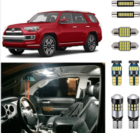 Image of 2010-2020 TOYOTA 4RUNNER 16PC LED BULB REPLACEMENT KIT