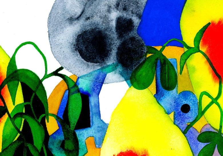 Image of Imaginary Landscape & Skull 01