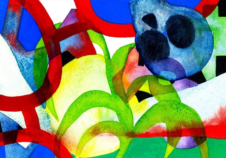 Image of Imaginary Landscape & Skull 05