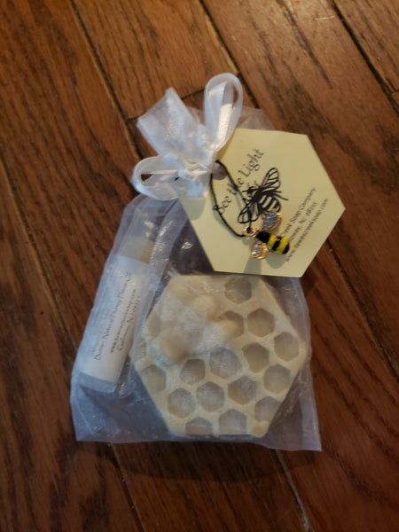Image of Honey Bee Soap and Lip Balm