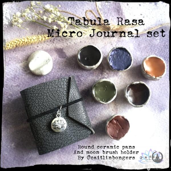 Image of Tabula Rasa - Micro Journal and ceramic pan set