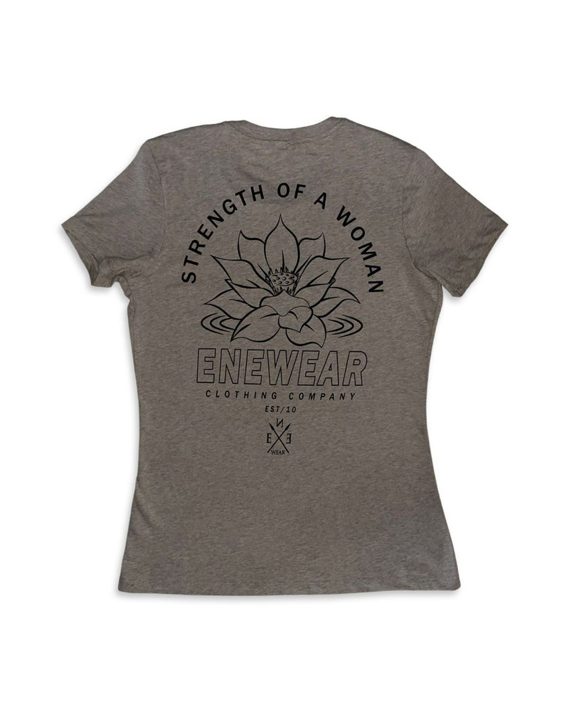 Image of STRENGTH OF A WOMAN LADIES TEE