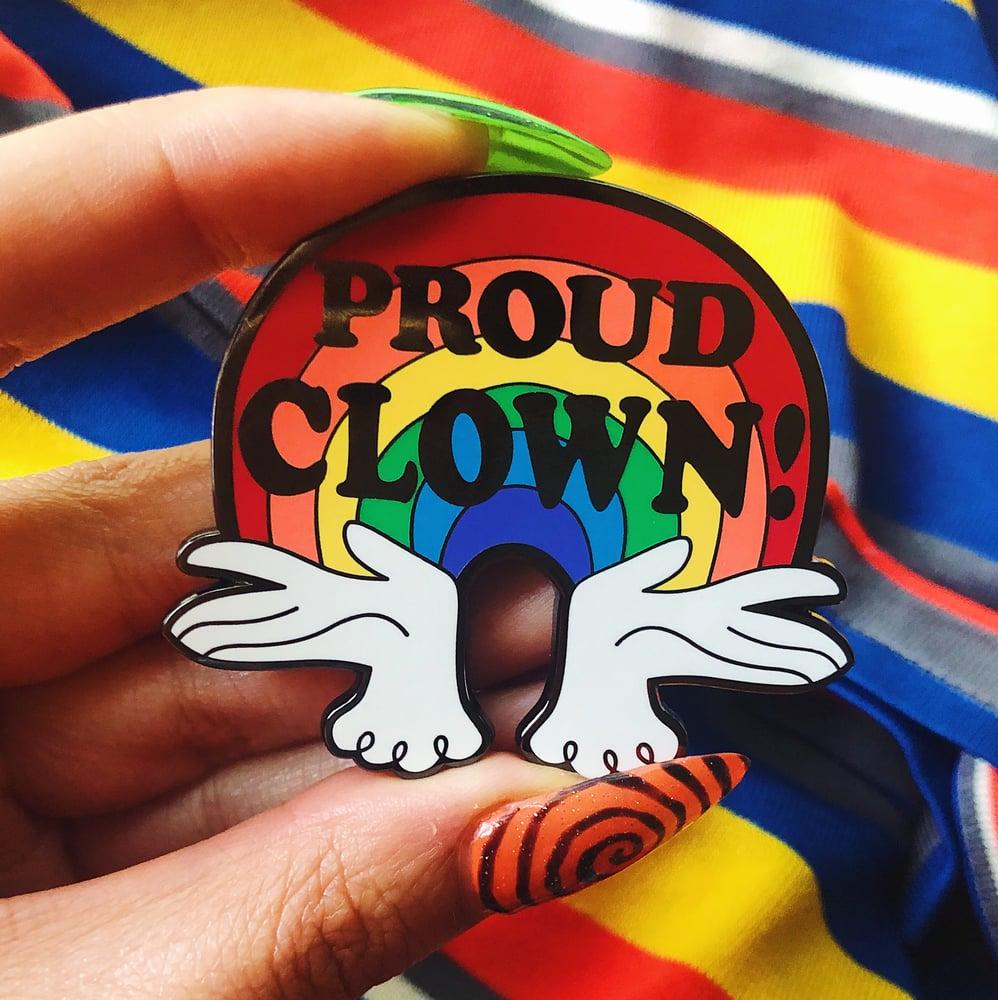 Image of Proud Clown Pin